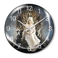 Clocktime By Cadran Dekoratif Bombeli Cam Duvar Saati Ct70