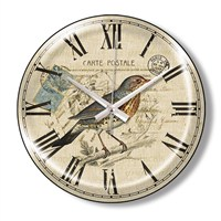 Clocktime By Cadran Dekoratif Bombeli Cam Duvar Saati Ct79