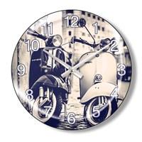 Clocktime By Cadran Dekoratif Bombeli Cam Duvar Saati Ct85