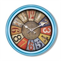 Clocktime By Cadran Retro Vintage Duvar Saati Ct95