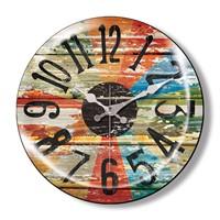 Clocktime By Cadran Dekoratif Bombeli Cam Duvar Saati Ct9