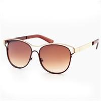 Almera Yeni Sezon Trend Moda Kahve Güneş Gözlüğü 36912