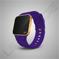 Upgrade Matte Gold & Purple Kol Saati