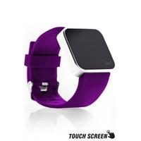 Upwatch Touch Shiny Silver&Purple Kol Saati