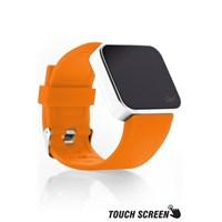 Upwatch Touch Shiny Silver&Orange Kol Saati