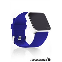 Upwatch Touch Shiny Silver&Blue Kol Saati