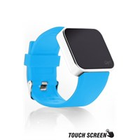 Upwatch Touch Shiny Silver&Turquoise Kol Saati