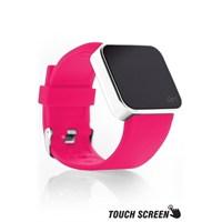 Upwatch Touch Shiny Silver&Pink Kol Saati