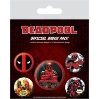 Pyramid International Rozet Seti Deadpool Badge Pack