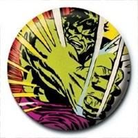 Pyramid International Rozet Marvel Retro Hulk Smash