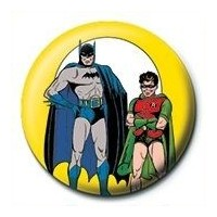 Pyramid International Rozet Dc Comics Batman & Robin Yellow