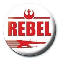 Pyramid International Rozet Star Wars Rebel