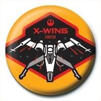 Pyramid International Rozet Star Wars Episode 7 X-Wing