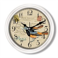 Clocktime By Cadran Retro Vintage Duvar Saati Ct97