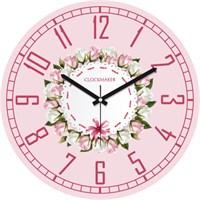 Clockmaker By Cadran 30X30 Mdf Duvar Saati Cmm109