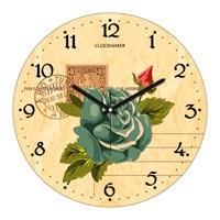 Clockmaker By Cadran 30X30 Mdf Duvar Saati Cmm111