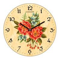 Clockmaker By Cadran 30X30 Mdf Duvar Saati Cmm113