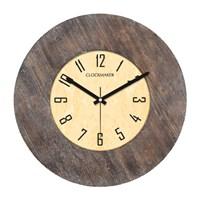Clockmaker By Cadran Retro Vintage 30X30 Mdf Duvar Saati Cmm150