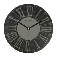Clockmaker By Cadran Retro Vintage 30X30 Mdf Duvar Saati Cmm172