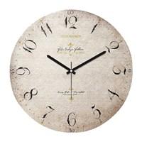 Clockmaker By Cadran Retro Vintage 30X30 Mdf Duvar Saati Cmm178