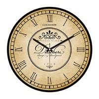 Clockmaker By Cadran Retro Vintage 30X30 Mdf Duvar Saati Cmm180