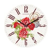 Clockmaker By Cadran 30X30 Mdf Duvar Saati Cmm14
