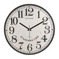 Clockmaker By Cadran Retro Vintage 30X30 Mdf Duvar Saati Cmm24