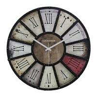 Clockmaker By Cadran Retro Vintage 30X30 Mdf Duvar Saati Cmm39