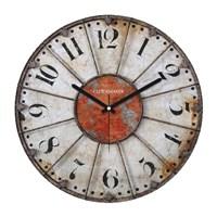 Clockmaker By Cadran Retro Vintage 30X30 Mdf Duvar Saati Cmm43