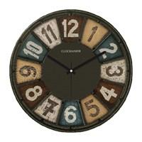 Clockmaker By Cadran Retro Vintage 30X30 Mdf Duvar Saati Cmm48