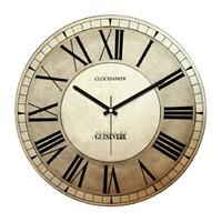 Clockmaker By Cadran Retro Vintage 30X30 Mdf Duvar Saati Cmm57