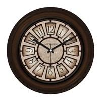 Clockmaker By Cadran Retro Vintage 30X30 Mdf Duvar Saati Cmm64