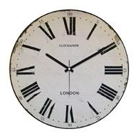 Clockmaker By Cadran Retro Vintage 30X30 Mdf Duvar Saati Cmm66