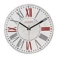 Clockmaker By Cadran Retro Vintage 30X30 Mdf Duvar Saati Cmm82
