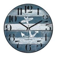 Clockmaker By Cadran Retro Vintage 30X30 Mdf Duvar Saati Cmm84