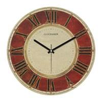 Clockmaker By Cadran Retro Vintage 30X30 Mdf Duvar Saati Cmm88