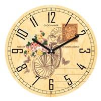 Clockmaker By Cadran 30X30 Mdf Duvar Saati Cmm7