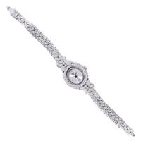 Tesbihane 925 Ayar Gümüş Zirkon Taşlı Yaprak Model Saat