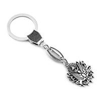 Tesbihane 925 Ayar Gümüş Arma Tasarım Anahtarlık