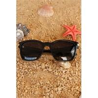 Morvizyon Clariss Marka Siyah Çerçeve Tasarımlı Yeni Trend Unisex Güneş Gözlük Modeli
