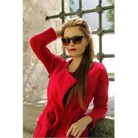 Morvizyon Clariss Marka Yeni Sezon Leopar Desenli Bayan Güneş Gözlük Modeli