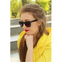 Morvizyon Clariss Marka Siyah Çerçeve Tasarımlı Bayan Gözlük