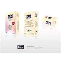 Pufai Disposable Cigarette Filters Slim Pack 25 – Pufai Tek Kullanımlık Sigara Filtresi Slim 25'Li Paket.