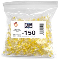 Pufai Disposable Cigarette Filters Economic Pack 150 – Pufai Tek Kullanımlık Sigara Filtresi 150 Adet Ekonomik Ambalaj