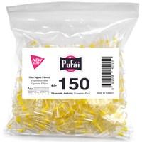 Pufai Disposable Cigarette Filters Slim Economic Pack 150 – Pufai Tek Kullanımlık Sigara Filtresi Slim 150 Adet Ekonomik Ambalaj