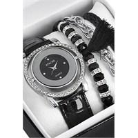 Apache Saat Ve Bileklik Seti Kol Saati 463389