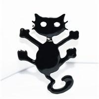 Cadının Dükkanı Çılgın Kedi Rozet