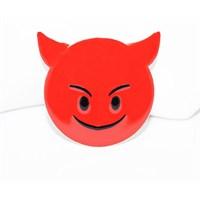 Cadının Dükkanı Gülen Şeytan Emoji Rozet