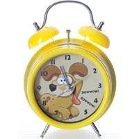 XOOM Eg7003cpddo Alarmlı Masa Saati Köpekli Sarı