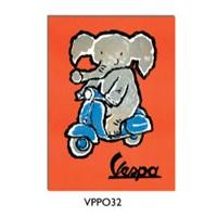 Vespa VPPO32 Poster